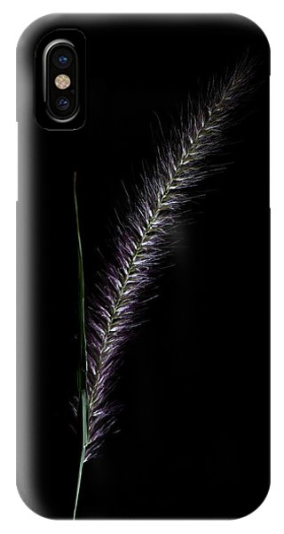 Fountain Grass Spike IPhone Case