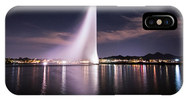 Fountain Hills At Night IPhone Case