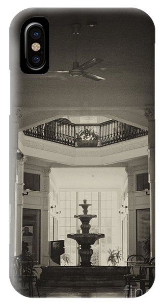 Fountain In The Light IPhone Case