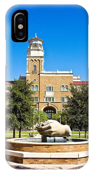 IPhone Case featuring the photograph Fountain Of Knowledge by Mae Wertz