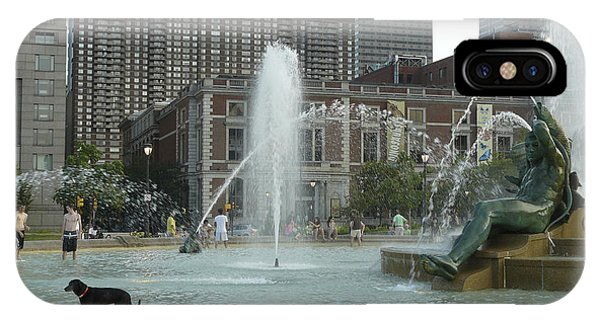 Fountain Of Three Rivers IPhone Case