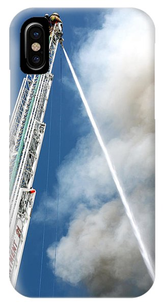 Four Alarm Blaze 001 IPhone Case