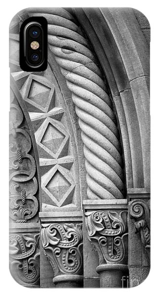 Smithsonian iPhone Case - Four Arches by Inge Johnsson