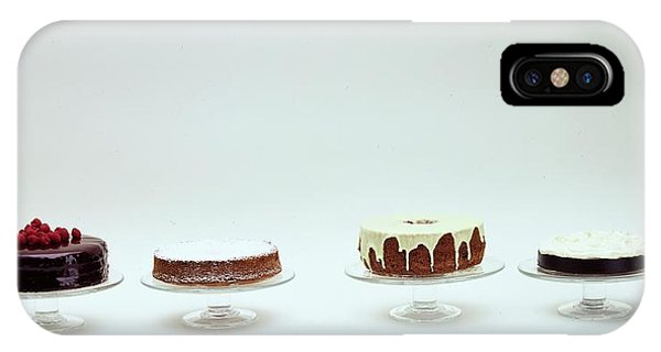 Four Cakes Side By Side IPhone Case