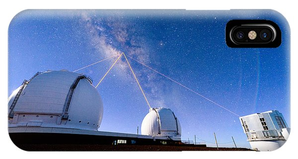Four Lasers Attacking The Galactic Center IPhone Case