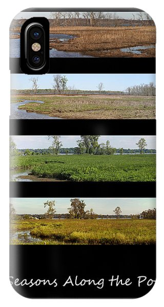 Four Seasons Along The Potomac IPhone Case