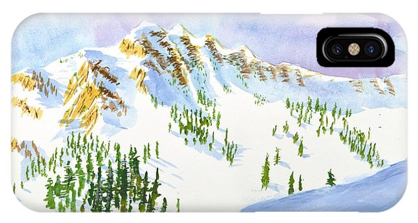 Four Sisters At Snowbasin IPhone Case