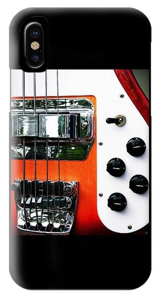 Four String Rickenbacker Bass  IPhone Case