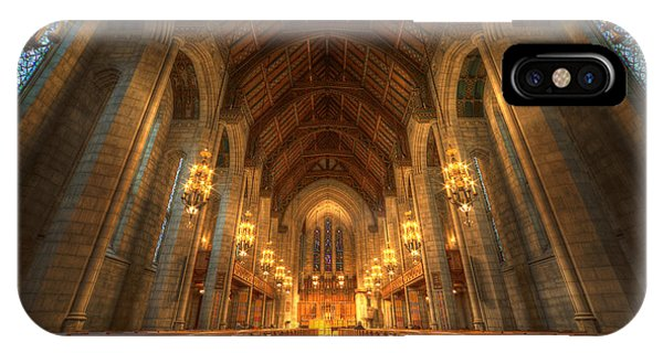 Fourth Presbyterian Church Chicago II IPhone Case