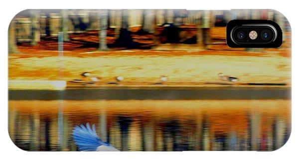 Fowl In Flight IPhone Case