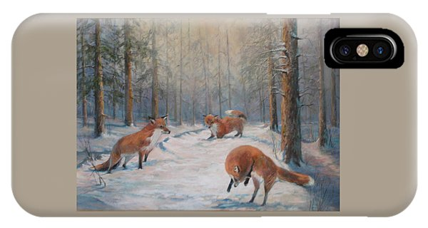 Forest Games IPhone Case