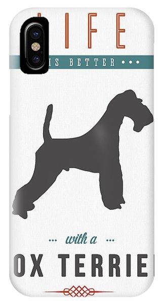 Fox Terrier 01 IPhone Case