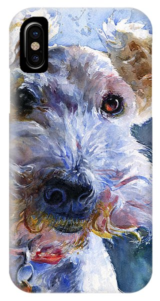Fox Terrier Full IPhone Case