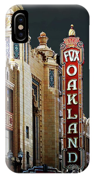 Fox Theater . Oakland California IPhone Case