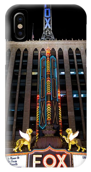 Fox Theater In Detroit Michigan IPhone Case