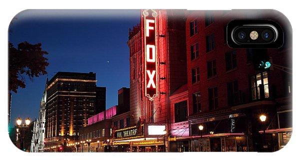 Fox Theater Twilight IPhone Case