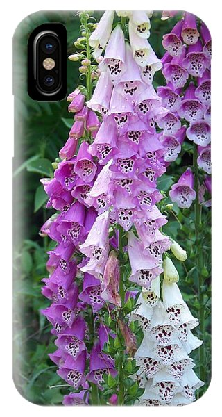 Foxglove After The Rains IPhone Case