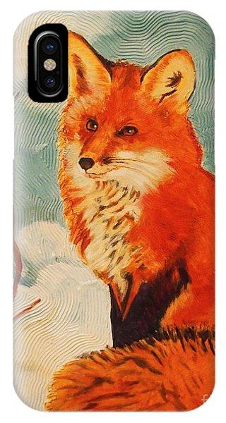 Foxy Presence IPhone Case