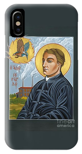 Fr. Gerard Manley Hopkins The Poet's Poet 144 IPhone Case