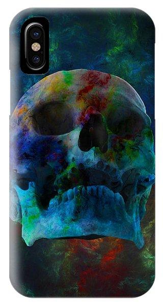 Fracskull 3 IPhone Case