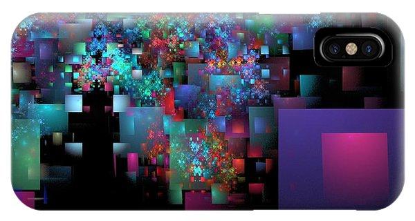 Fractal Confetti IPhone Case