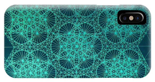 Fractal Interference IPhone Case