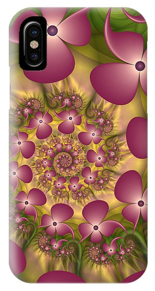 Fractal Joy IPhone Case