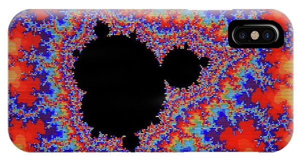 Fractal iPhone X Case - Fractal Of The Mandelbrot Set by Mehau Kulyk/science Photo Library