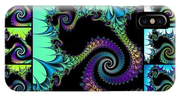 Fractal Quilt 5  IPhone Case