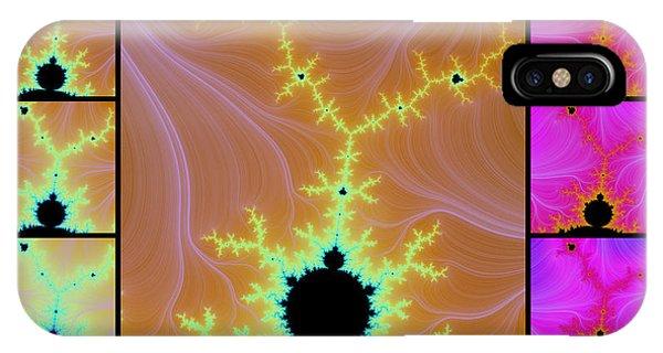 Fractal Quilt 6  IPhone Case