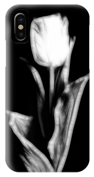 Fractal Tulip IPhone Case