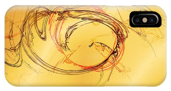 IPhone Case featuring the digital art Fragile Not Broken by Jeff Iverson