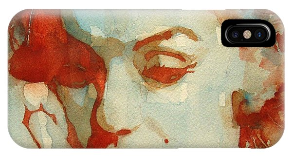 Red iPhone X Case - Fragile by Paul Lovering