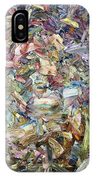 Expressionism iPhone Case - Roadside Fragmentation by James W Johnson