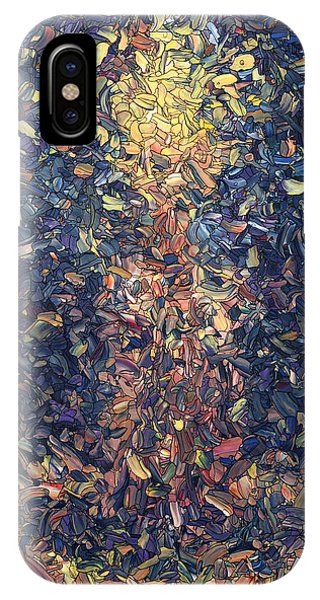 Popular iPhone Case - Fragmented Flame by James W Johnson