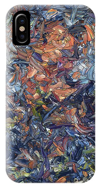 Figures iPhone Case - Fragmented Man by James W Johnson