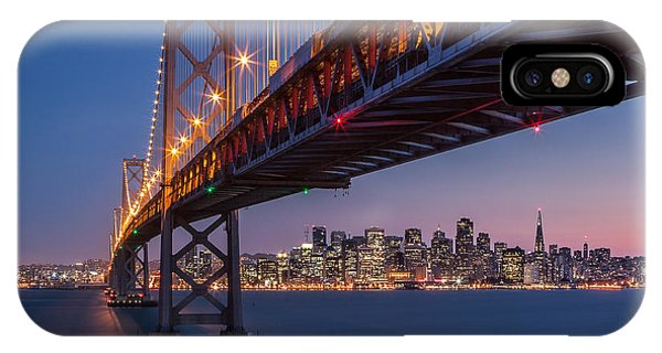 Framing San Francisco IPhone Case