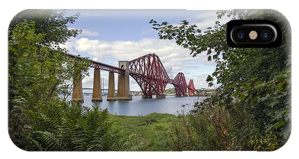 Framing The Forth Bridge IPhone Case