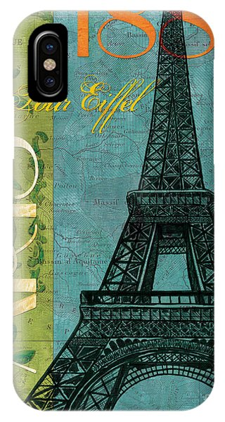 Paris iPhone Case - Francaise 1 by Debbie DeWitt
