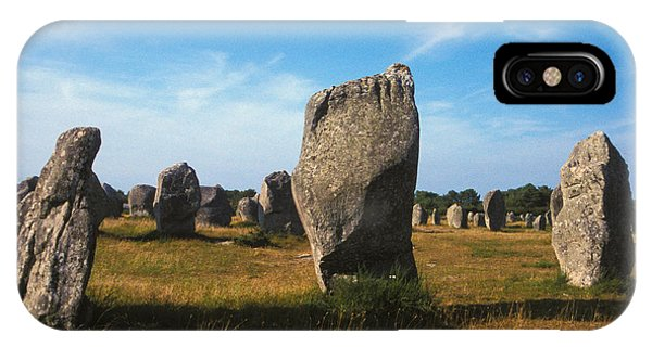 France Brittany Carnac Ancient Megaliths  IPhone Case