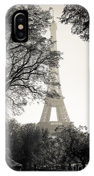 The Eiffel Tower Paris France IPhone Case