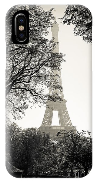The Eiffel Tower Paris France IPhone Case