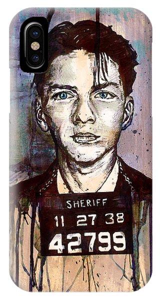 Frank Sinatra Mug Shot IPhone Case