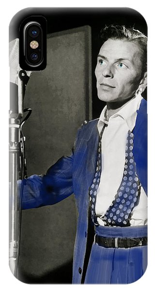 Frank Sinatra - Old Blue Eyes IPhone Case