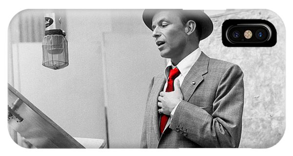 Frank Sinatra Painting IPhone Case