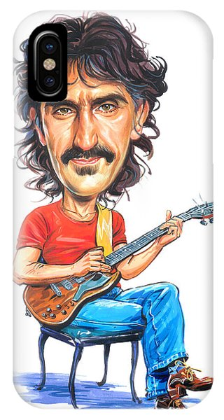 Frank Zappa iPhone Case - Frank Zappa by Art