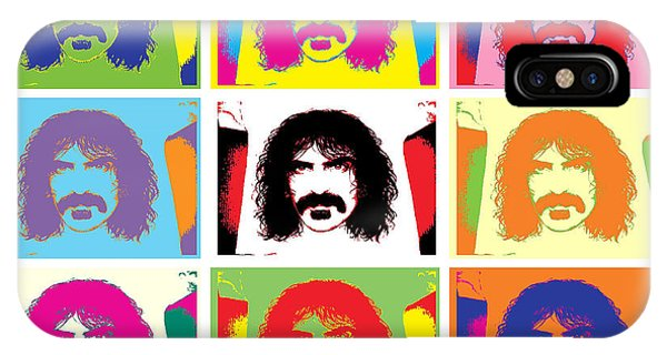 Frank Zappa iPhone Case - Frank Zappa by Vikki King