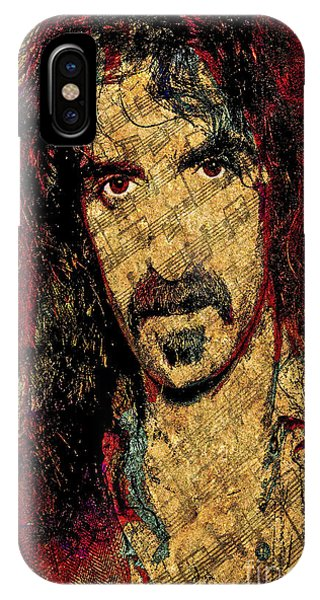 Frank Zappa iPhone Case - Frank Zappa by Gary Keesler