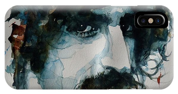 Frank Zappa iPhone Case - Frank Zappa by Paul Lovering