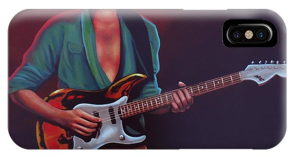 Frank Zappa iPhone Case - Frank Zappa by Paul Meijering